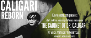 The Cabinet of Dr. Caligari - A Dark Rock Live Screening