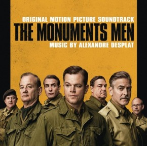 THE MONUMENTS MEN - Original Motion Picture Soundtrack by Alexandre Desplat