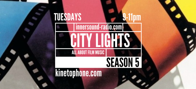 5 years City Lights (film music radioshow)