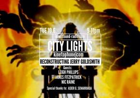 CITY LIGHTS Radioshow - Reconstructing JERRY GOLDSMITH
