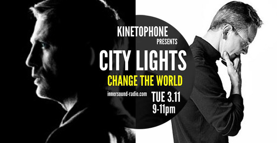 CITY LIGHTS Film Music Radioshow - Change The World (From Spectre to Bond)