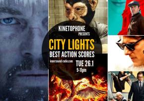 CITY LIGHTS Radioshow: BEST ACTION-THRILLER SCORES 2015