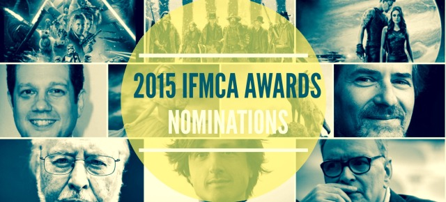 INTERNATIONAL FILM MUSIC CRITICS AWARD NOMINATIONS 2015