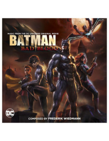 JUSTICE LEAGUE VS. TEEN TITANS AND BATMAN: BAD BLOOD  –  Double Soundtrack Release