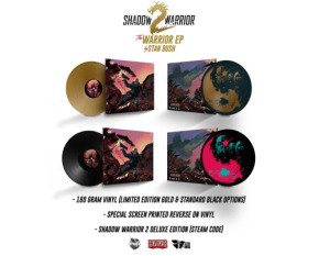 SHADOW WARRIOR 2 'WARRIOR' VINYL ANNOUNCED
