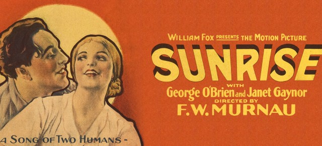 "MURNAU'S ""SUNRISE"" WITH A NEW SCORE BY JOE KRAEMER"