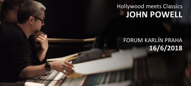 HOLLYWOOD MEETS CLASSICS: JOHN POWELL IN PRAGUE