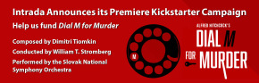 DIAL M FOR MURDER - KICKSTARTER CAMPAIGN