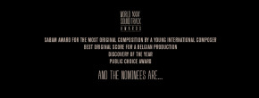 18th WORLD SOUNDTRACK AWARDS Announces 2nd Wave of Nominees