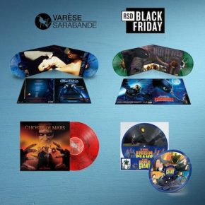 RECORD STORE DAY BLACK FRIDAY 2021  FROM VARÈSE SARABANDE RECORDS